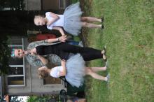 Pokaz tańca i akrobacji